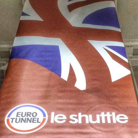 Time to go home. Eurotunnel