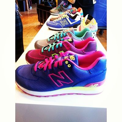 I'd like one of each please! Sick kicks at @newbalancecanada preview. NBMediaPreviewDay StrutNB Kicks Fashion style neon springtrends springfashion health healthy activewear workout instamood instamood igers igerstoronto