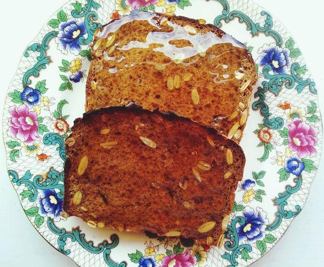 Bread Toast Manukahoney Snack