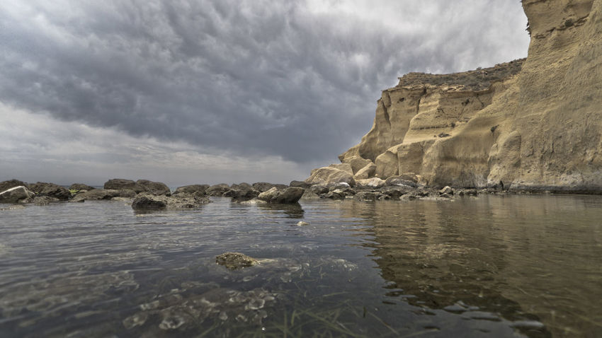 Los Cocedores Cloud - Sky Day Landscape Murcia Napatu Nature No People Outdoors Rock - Object Scenics Sky SPAIN Water