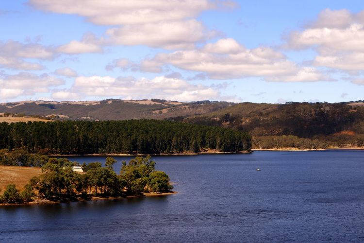 Myponga Dam on the Fleurieu Peninsula, South Australia Australia Myponga Travel Travel Photography Beauty In Nature Cloud - Sky Day Lake Landscape Nature No People Outdoors Reservoir Rural Landscape Scenics Sky Tranquil Scene Tranquility Travel Destination Tree Water Waterfront