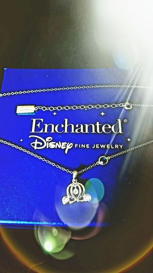 Disney Cinderella Text Blue Close-up No People Luxury Gold Colored Indoors  Day Dinsey Classic Movies Disney Disney Land Cinderalla Jewellery💎 Jewelry EyeEmNewHere