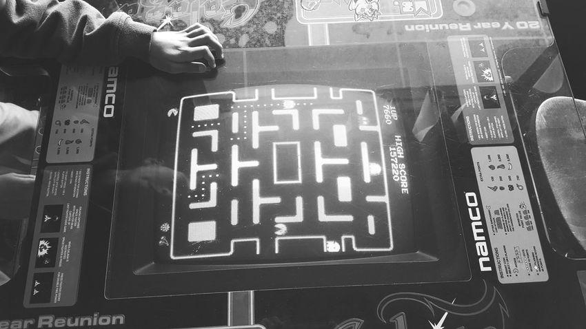 Ms. Pacman Galaga vintage arcade game Ms. Pacman GALAGA  1981