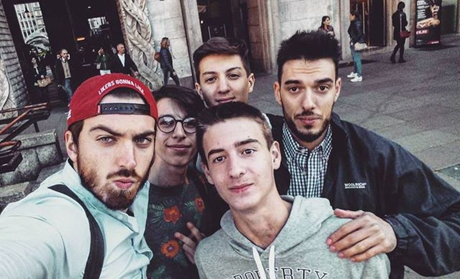 Milano Theshow Selfie Piazzaduomo Schooltrip Expo Friends Alessandro Alessio .