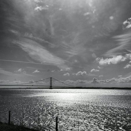 Humber Bridge Hull Black And White Photography EyeEm Best Shots - Black + White Black And White Noir