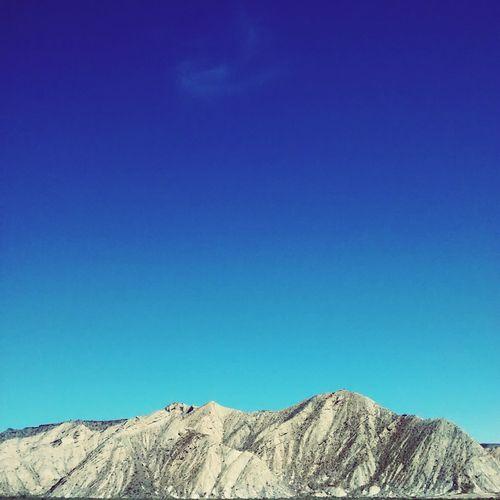 Geology Mountains Landscape Almería Dessert Negative Space Blue Sky Eye4photography  Desert Rocks