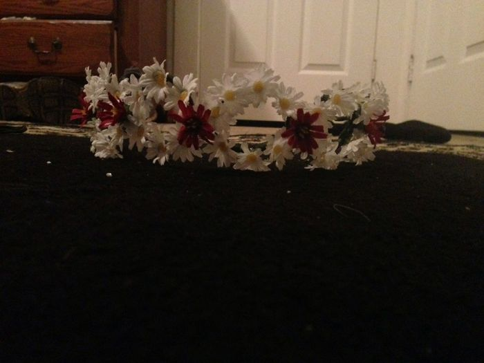 The Floral Crown I Just Made