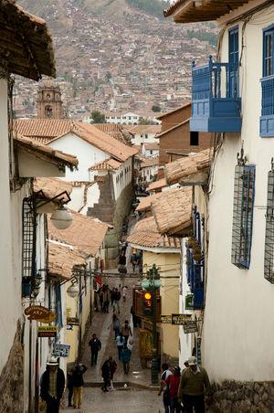 Cusco - Peru City Cusco Inca Peru Cuzco Town