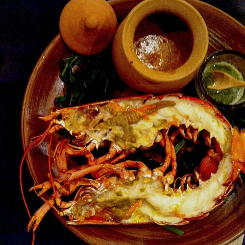 Thai Fusion Food Iron Chef Table Iphone4 Thailand River Prawn Show Us Your Takeaway!