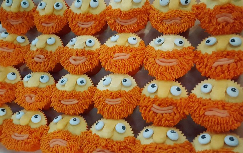 Cupcakes Cakes Decorative Cakes Ginger Beard Funny Food