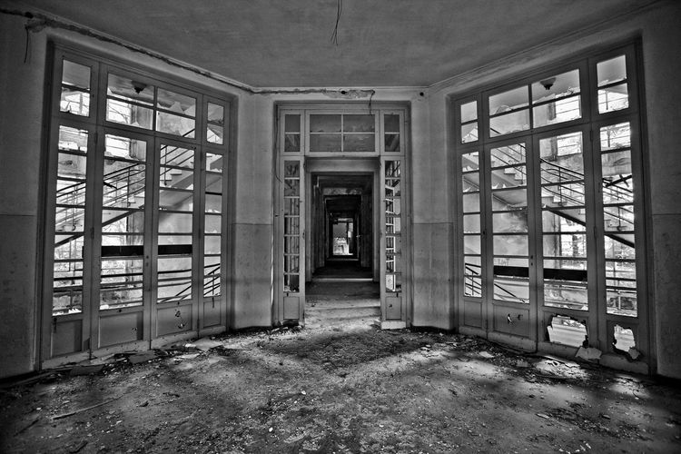 Ex Ospedale Rocco La Russa (abandoned) Damages Darkroom Forgotten Gothic Hospital Ospedale Rocco La Russa Sicily Trapani Abandoned Decommissioned Deseted Dreary Erice Gloomy Indoor Inside Italy Lock Oblivion Oblivion Of Being Old Hospital Pigeons Reportage Rusty Tuberculosis