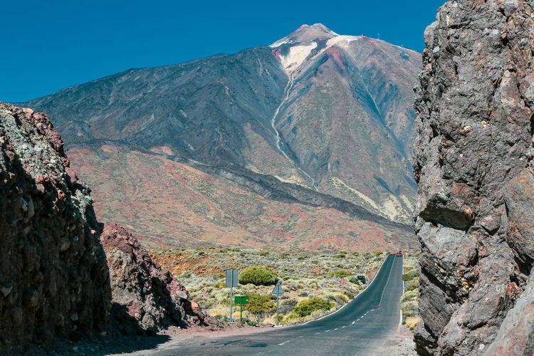 Pico del teide, tenerife, altitude 3718 mtrs