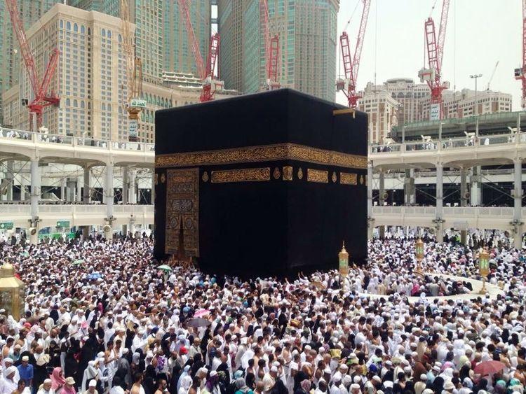 Mecca Makkah Taking Photos Praying KSA Saudi Arabia