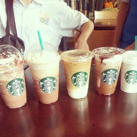 Starbucks ~\(≧▽≦)/~ ♥