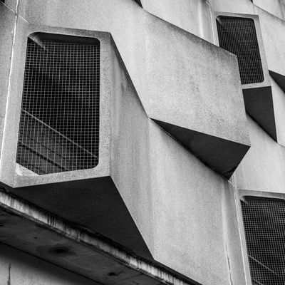 Brutal Beauty 'The ugliest Building in Europe', they say Architectural Detail Architectural Feature Architecture Architecture_collection Building Exterior Building Story Built Structure City City Life Cityscape Close-up Façade Low Angle View Urban Geometry Urban Landscape Urbanphotography Minimalz