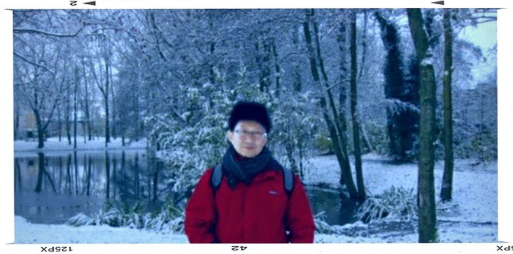 Snowy Amsterdam...