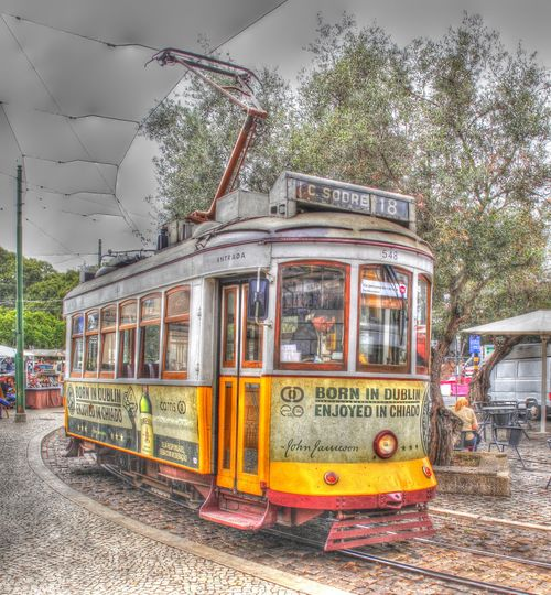 Old Tramcar in