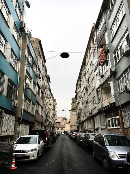 Building Exterior Architecture Sky Car No People Perspective Istanbul Aksaray Fatih
