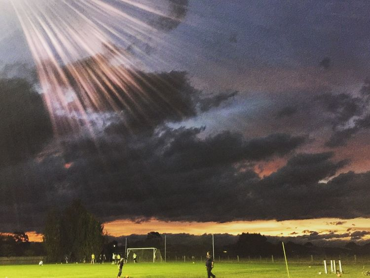 Future champs under lights Check This Out People Soccer Soccer Life Underlights Practicing Champions Evening Sky Evening Light Australia PracticeMakesPerfect iph IPhoneography Capture The Moment Colors EyeEm Best Edits EyeEm Gallery EyeEm Best Shots Autumn Iphoneonly Skyporn EyeEm Nature Lover Lookingup Sky_collection Sunset #sun #clouds #skylovers #sky #nature #beautifulinnature #naturalbeauty #photography #landscape