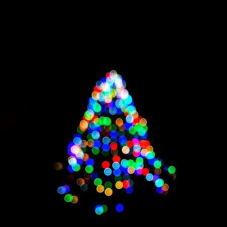Christmas Christmas Decoration Christmas Lights Black Background Defocused Bokeh Bokeh Photography Huawei Leica Lens Manual Focus Christmas Tree Lights Mobile Photography P10 Plus Photography EyeEm Selects Snapseed