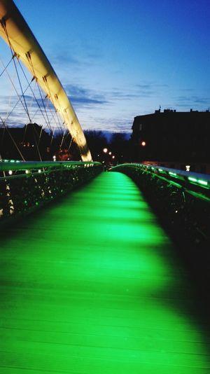 Stpatricksday Galosikphotigraphere GalosikFotografę Greenlight KładkaBernatka Zielono