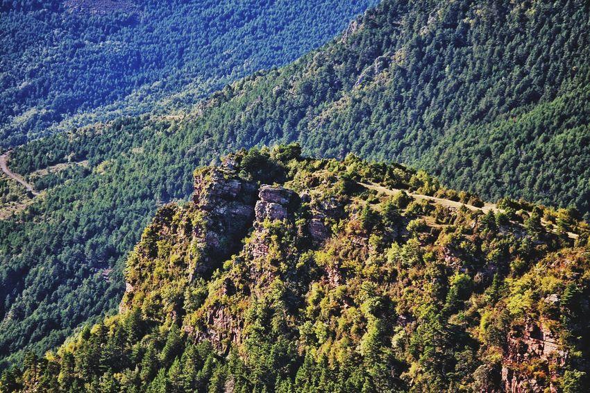Mountain View Mountains And Sky Green Green Mountains Spanish Pyrenees Road Trip Blue Sky Mountain Range