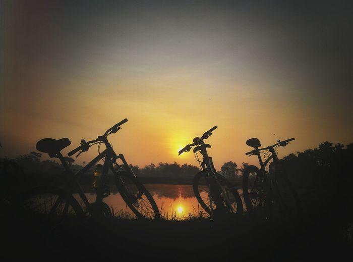 Blitar Blitarian Bike Xiaomi RedmiNote RedmiNotePhotography Sunset Exploreblitar Exploreindonesia