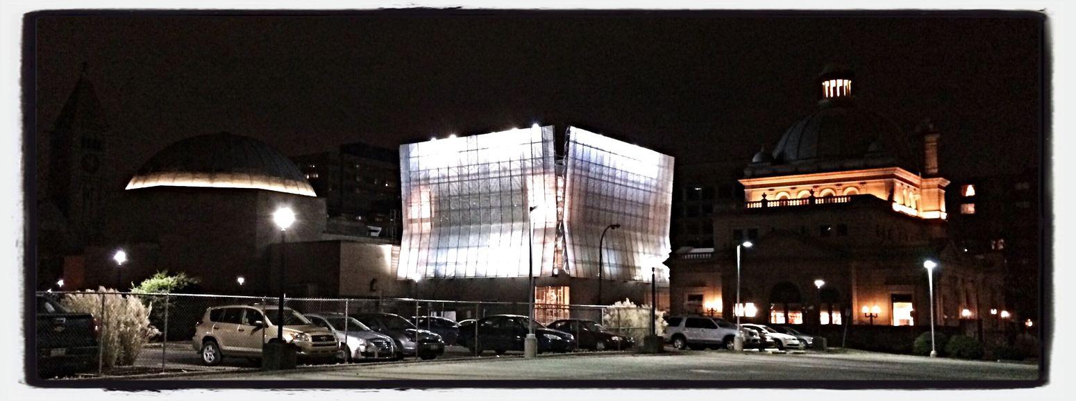 Children's Museum Contrast Urban Geometry