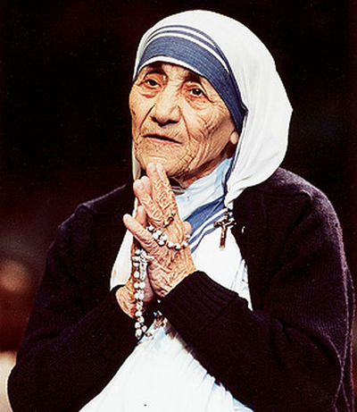 My role model Mother Teresa