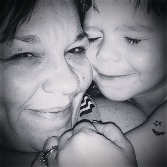 RePicture Motherhood Cuddle Buddy Love This Boy I Look Tired... Shades Of Grey