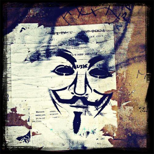 Streetart V For Vendetta