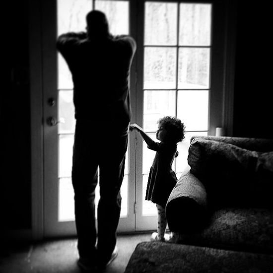 Day 72 waiting. Fatherdaughter Project365 My_365 Ciuan365 unforgettableinstagram shootyourlife mommytweet puddlewonderful365 childhood familytime family TeamPinnock love aw BlackAndWhitePhotography clickinmoms GalaxyS5