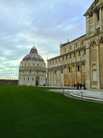 Architecture Building Exterior Built Structure City City Colors City Life Cloud - Sky Colors Culture Dome Engineering Europe Europe Trip Green History Italy Leaning Tower Of Pisa Outdoors Pisa Sky Structure Tourism Travel Travel Destinations
