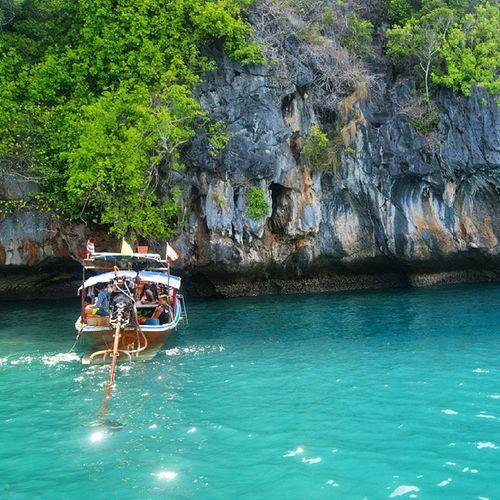 เกาะเชือก 🚢🚢🚢⛵⛵⛵🚤🚤 Trang Thailand Reviewthailand
