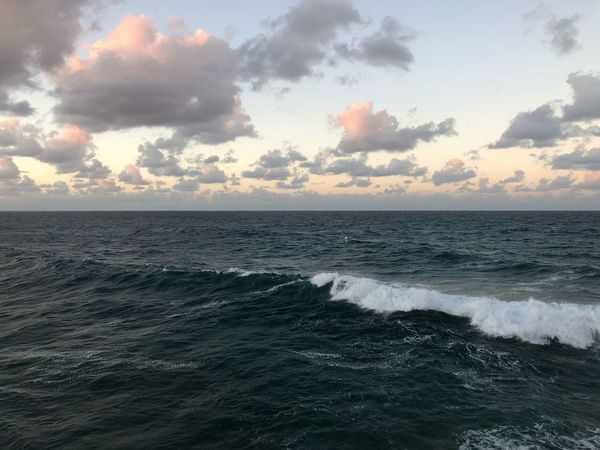 3D clouds EyeEm Nature Lover EyeEm Best Shots PuertoRico Beach Puertorico Puerto Rico Sea Horizon Over Water Water Beauty In Nature Nature Cloud - Sky Tranquil Scene Sky Wave Scenics Tranquility No People Sunset Beach Outdoors Day
