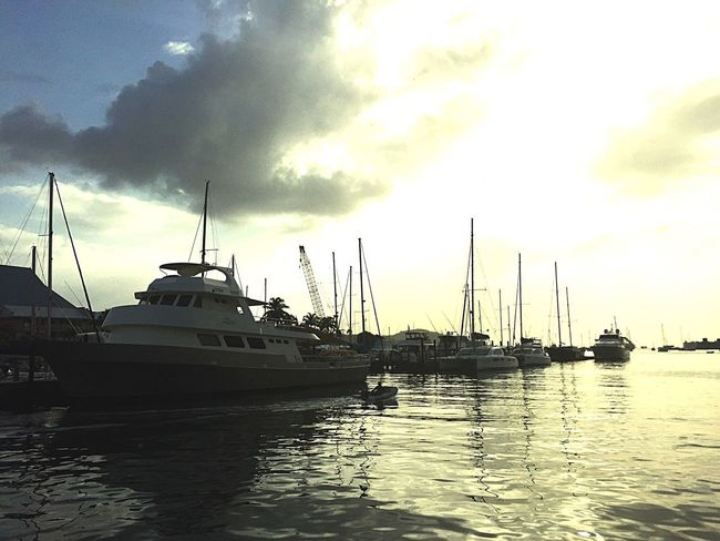 Yacht Harbor Chaguaramas Sea And Sky Trinidad And Tobago Landscapes With WhiteWall
