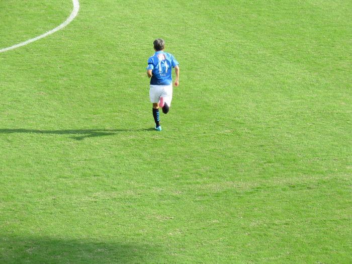 He is football KING in japan Japan 横浜FC カズ