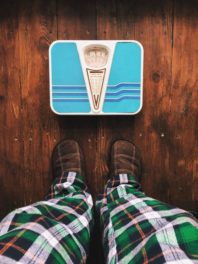 Have a healty appetite! Bathroom Bathroom Scale Body & Fitness Brown Feet Fit Fitness Goal Health Healthy Healthy Lifestyle Indoors  Man Person Personal Perspective A Bird's Eye View Pjs Resolutions Scale  Textured  Training Weight Weight Loss Weightloss Wood