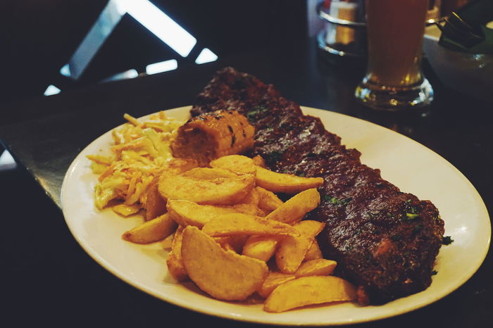 bbq ribs Food Food And Drink Freshness Ready-to-eat No People Indoors  Plate Table Unhealthy Eating Close-up Fast Food Day BBQ Bbq Ribs Ribsteak Rib Ribs Meats Dining Out