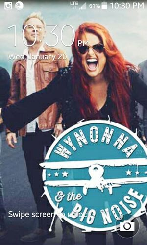 My phones lock screen. Wynonna And The Big Noise Wynonna Judd Cactus Moser