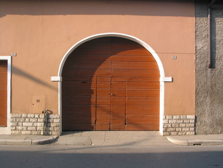 Old gates with doors, brown colour dominating. Arch Architecture Brown Building Exterior Built Structure Day Doors Gates No People Old Outdoors