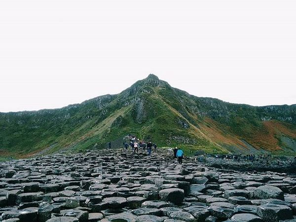 Stop it, geology. GiantsCauseway Traveligram Pixelpanda Travelgram Igtravel Geological Volcanic  Landscape Moors Mountains Hexagonal Ireland Northernireland Uk Europe Travel Vscocam VSCO Kinfolk Vscogrid