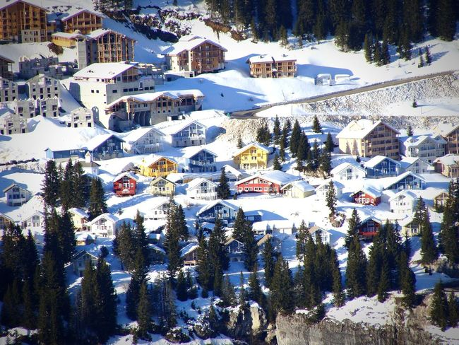 Montagnes 🌲🍃 Snow ❄ Winter Mountain Landscape Vacations Flainefrance