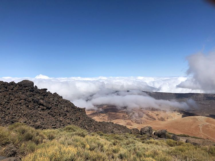 Volcano Teide, Tenerife 🇪🇸 Cloud - Sky Clouds Teide National Park Mount Teide Volcano Teide Tenerife SPAIN Mountain Cloud - Sky Clouds Hiking Sky Smoke - Physical Structure Beauty In Nature Geology Scenics - Nature Environment Nature Tranquility Mountain Tranquil Scene Outdoors Physical Geography Power In Nature