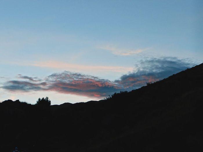 Sunset Mountain Mountain Range Landscape Travel Tree Cloud - Sky Sacsayhuaman Peru Peru