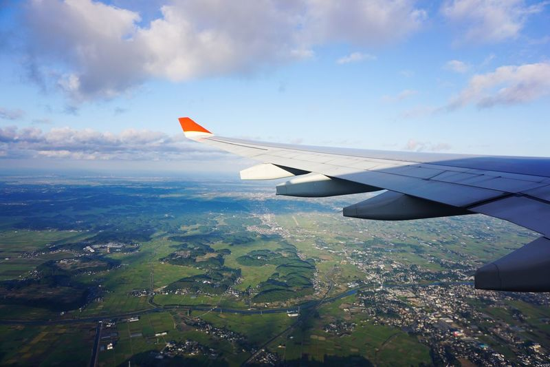 Flying Air Vehicle Airplane Aircraft Wing Mode Of Transportation Transportation Sky Cloud - Sky Aerial View Mid-air Travel Landscape Journey The Traveler - 2018 EyeEm Awards The Traveler - 2018 EyeEm Awards The Traveler - 2018 EyeEm Awards