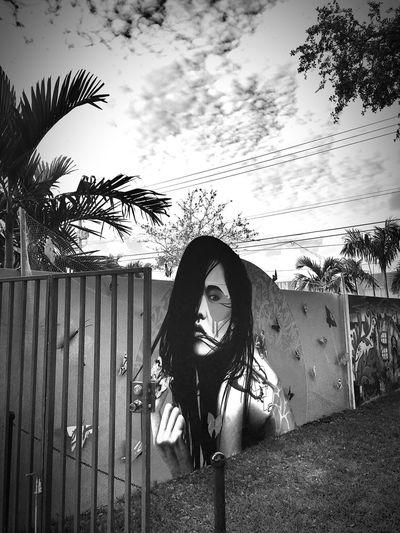 Wynwood Wynwoodwalls Wynwood Art Walk Wynwood Walls Noir Et Blanc Bnw_collection Bnw Bnwphotography Bnw_planet Bnw_captures EyeEm Best Shots - Black + White EyeEm Best Edits Bnw_life Streetphotography