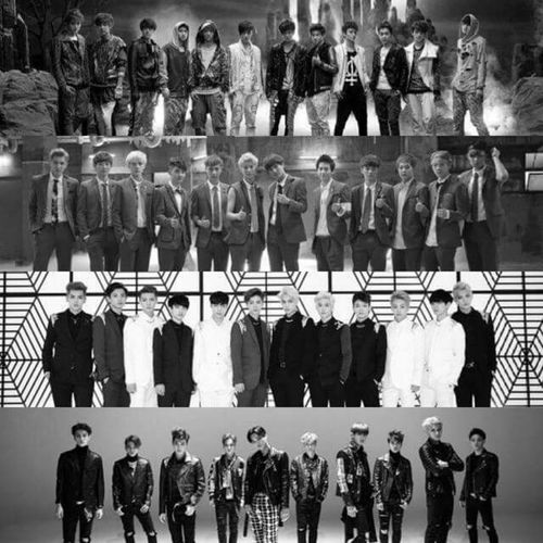 3 Years With Exo EXO Exok Exom Exol