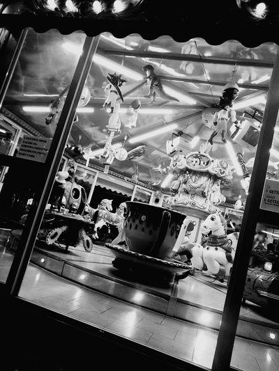 Black & White Rides Carosello Park EyeEmNewHere