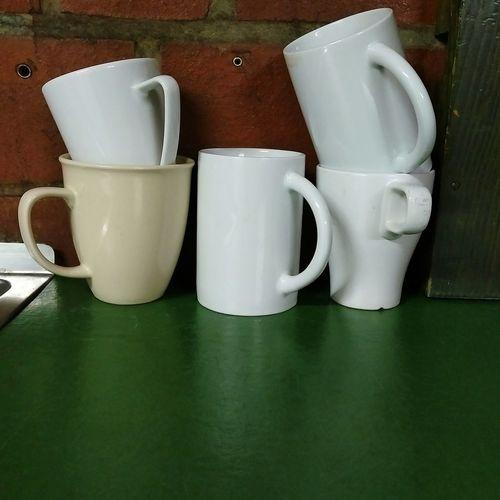 Tassen im Stapel Cup Tassen Abwaschen Stapel Idee Bussness Working Top Bussiness Close-up Teabag Coffee Cappuccino Tea Cup